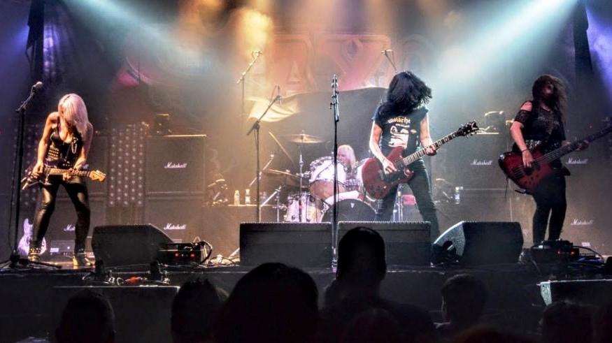 dae5222fc8f Girlschool Live Scotland | WinterStorm 2018