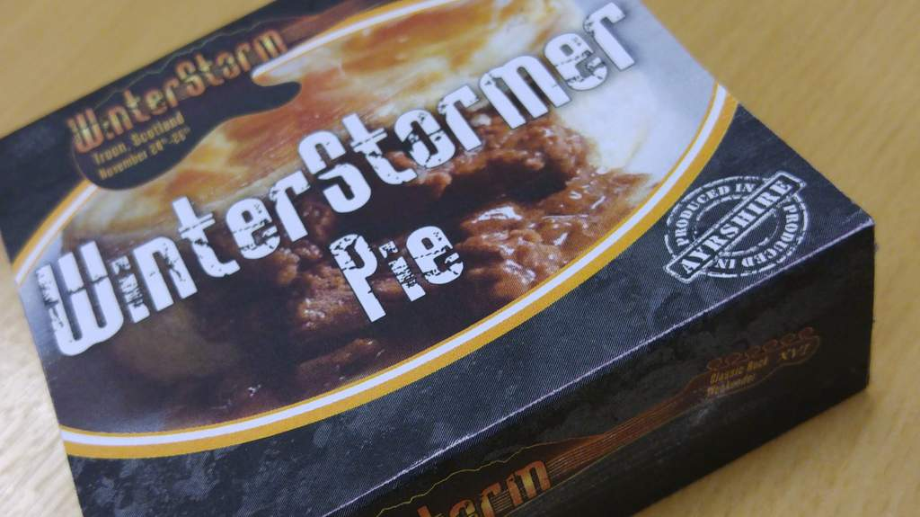 Introducing The WinterStormer Pie